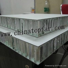 Marine  honeycomb composite panel Aluminum honeycomb panel Fireproof panel