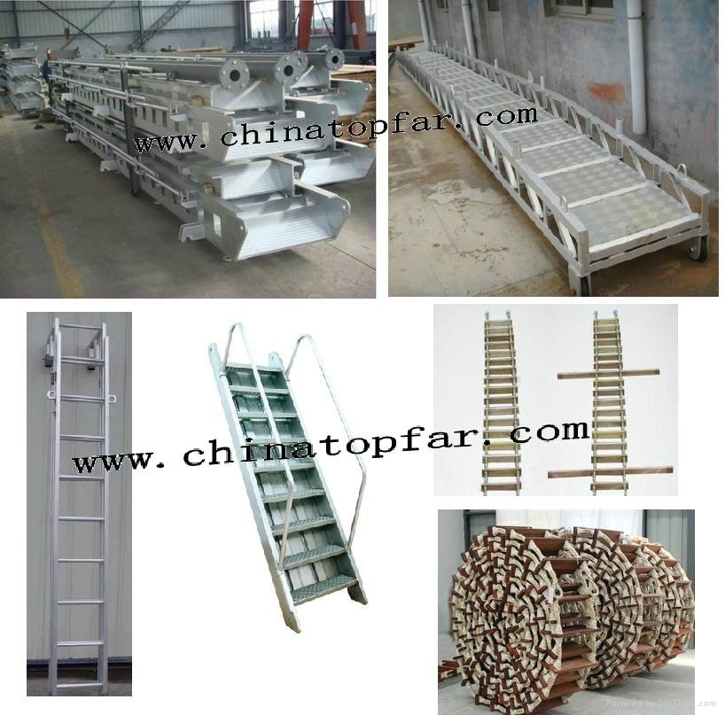 Marine accommodation ladder, gangway ladder,wharf ladder,pilot ladder 6