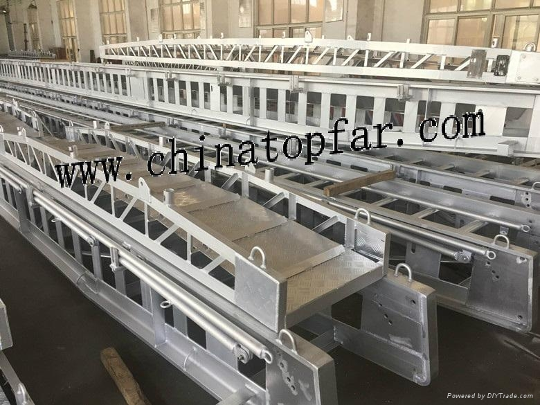 Marine accommodation ladder, gangway ladder,wharf ladder,pilot ladder 7