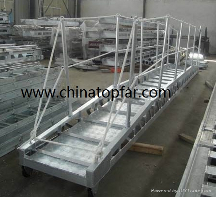 Marine accommodation ladder, gangway ladder,wharf ladder,pilot ladder 1