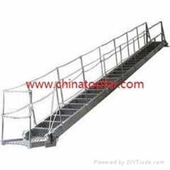 Marine gangway ladder,wharf ladder,boarding rope ladder Draft ladder Pilot ladde