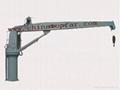 Marine hydraulic slewing crane,hose