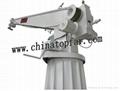 Ship deck crane,hydraulic slewing crane