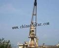 Ship service crane Ship hose crane