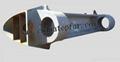 Rudder horn Marine rudder steel casting Ship steel structure