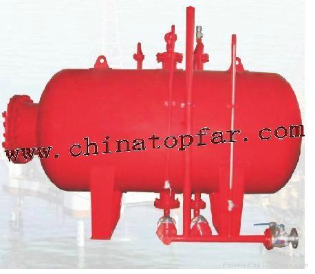 Marine air receiver Foam tank Nigrogen gas tank,Buffer tank,Dry power dan 1