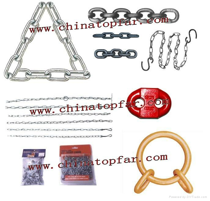 Short link chain Round link chain Animal chain - topfar88