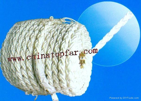 Marine mooring rope Polypropylene rope Polyester rope Nylon mooing line 3