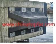 Cylinder rubber fender Marine D type