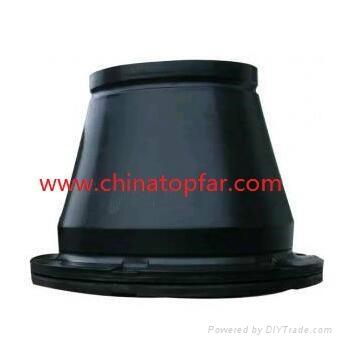 Cylinder rubber fender Marine D type rubber fender W type fender Dock fender 5