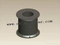 Cylinder rubber fender Marine D type rubber fender W type fender Dock fender 6