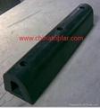 Cylinder rubber fender Marine D type rubber fender W type fender Dock fender 8