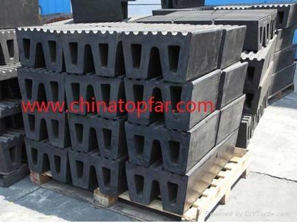 Cylinder rubber fender Marine D type rubber fender W type fender Dock fender 2