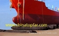 Marine Air bag for ship launching Salvage Rubber pontoon 2