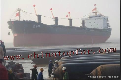Marine Air bag for ship launching Salvage Rubber pontoon 3