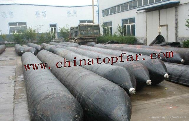 Marine Air bag for ship launching Salvage Rubber pontoon 1
