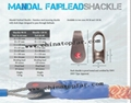 Mandal Fairlead Shackle