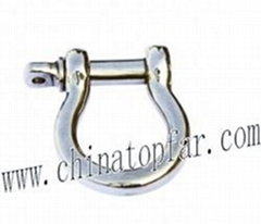 AISI304/AISI316 stainless steel wire rope,shackle,thimble,rigging screw for boat