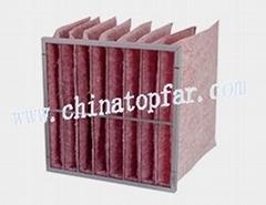 Pocket air filter