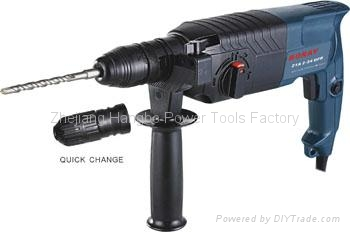 Powerful Rotary Hammer 24mm DFR in BOSCH type 3