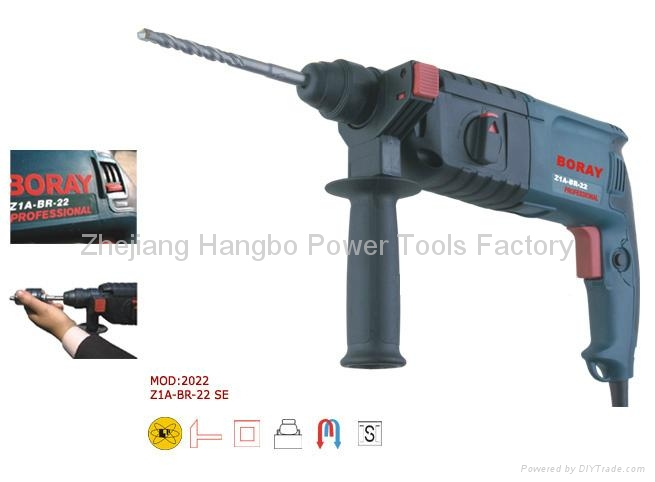 Powerful Power tools,Rotary Hammer 22mm in BOSCH Type 3