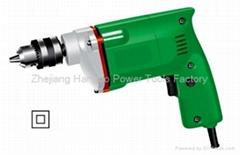 Aluminum Head Electric Drill 10mm 300W
