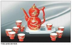 春节礼品自动酒具