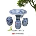 供应牡丹陶瓷桌凳