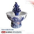 落地陶瓷喷泉