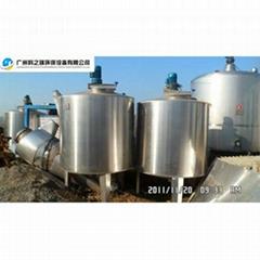 供不锈钢带保温功能性质储存罐