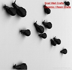 Wall Arts Wall Crafts (Snail crafts)