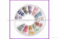 3D Clay Flower Decoration for Nail Art BEB-B01