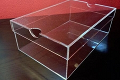 Acrylic Shoe Box