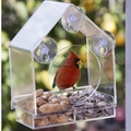 Custom acrylic bird feeder  1