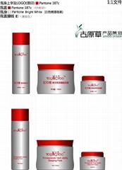 广东新款化妆品瓶形包装设计