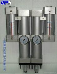 预行式增压缸UP2-10-20-20上海御豹UPower气液
