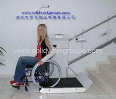 楼梯轮椅升降平台