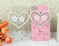 Luxury Heart and Pearl diamond crystal