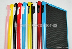 for ipad PC+TPU case for new ipad 2,ipad 3