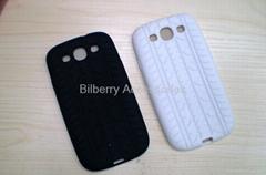 Tire tread Gel TPU Soft Back Cover Case Skin for Samsung Galaxy S3 Siii I9300