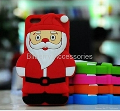 Best Christmas Gift ! Father Christmas/Santa Claus Case for iPhone 5