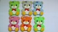 teddy bear silicon cases for iPhone5