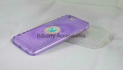 Diamond TPU Mobile Phone Shell Case For iPhone6 4.7 5.5