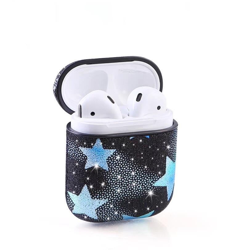 Bling Bling Glitter Leather Case Cover for Apple Air pod