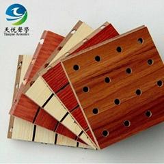 木质槽木吸音板  成都天悦