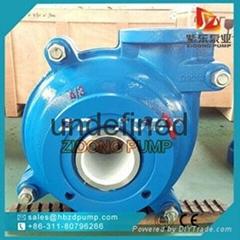 AH wear resistant horizontal centrifugal mining slurry pump