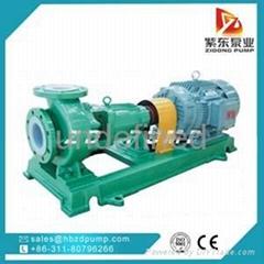 IHF fluorine plastic liner acid pump chemical pump