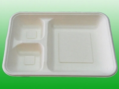 food container--3 compart