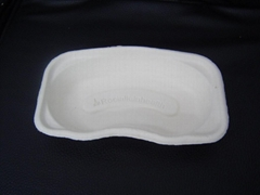 kidney trays ---biodegradable in recycled waste paper