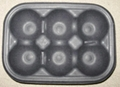 fruit tray ---6 pcs ---retailer pack